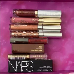 Sephora Nars Colourpop Hourglass lippie bundle